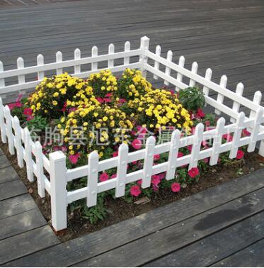 厂家直销PVC草坪护栏 小区园林绿化带护栏 花圃市政围栏 加工定制