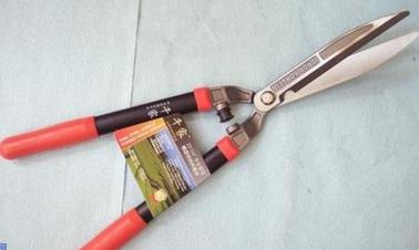厂家直销台湾千家绿篱剪233-9寸直刀形.