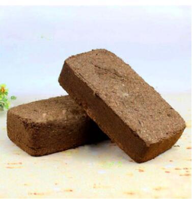 大量批发无菌纯椰粉砖 椰砖 兰花土 盆栽基质 650克