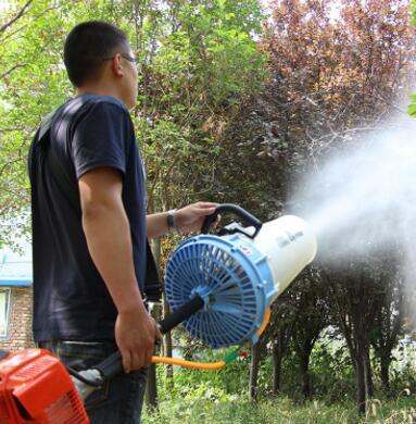 手提式风送喷雾机 农田喷药机林地喷药 轻便喷雾机苗圃喷药机