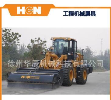 装载机清扫器 HCN屈恩机具改装各品牌铲车清扫车 场地除尘扫地机