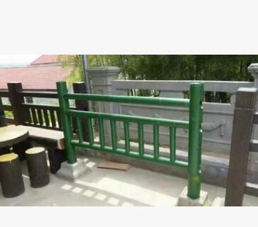 仿竹护栏 仿木护栏 水泥仿竹护栏 景观护栏