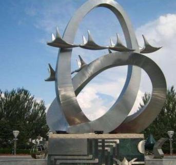 城市不锈钢雕塑 园林不锈钢雕塑 各种造型不锈钢雕塑
