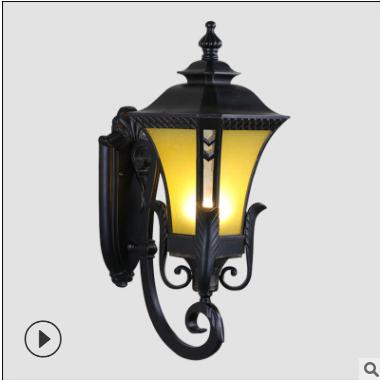 厂家直销欧式庭院壁灯 LED路灯 园林景观灯 仿古庭院花园别墅灯具