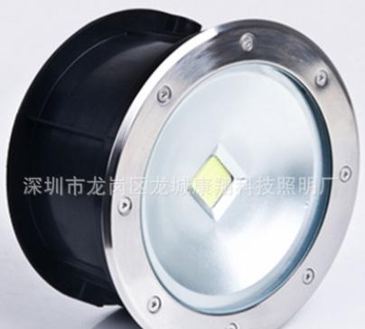 LED地埋灯圆形集成10W20W30W50W嵌入户外COB埋地灯 照树射灯220V
