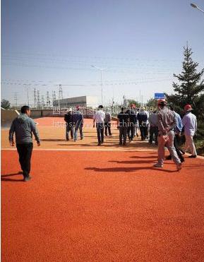 陕西西安厂家供应透水混凝土地坪透水地面绿化工程