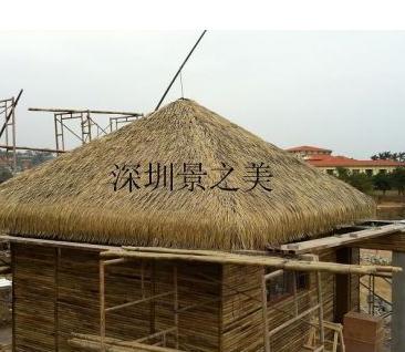 供应高端纳米仿真茅草材料厂家优质供应