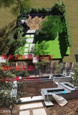 承接龙华户外园林别墅花园小区设计规划与施