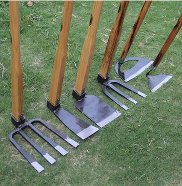 九佐吉大锄头家用木柄长柄农用园林园艺工具农具户外除草菜园种菜