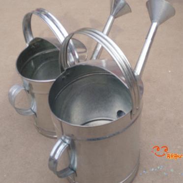 包邮园艺工具手工不锈镀锌铁皮洒水壶浇花壶喷壶浇菜壶花园浇水壶