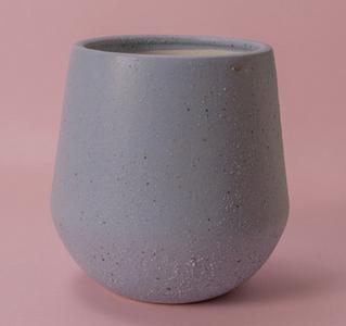 大麦町-圆口尖底007小个花盆现代简约时尚精致花器纯手工艺术商业