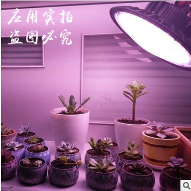 跨境爆款UFO圆形LED植物灯 仿太阳光暗室种植光合作用补光生长灯