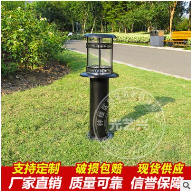 LED太阳能草坪灯庭院灯户外不锈钢草地灯欧式公园taiyang亮化灯具