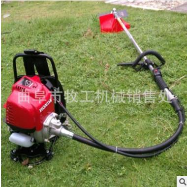 厂家直销手推式汽油草坪机 园林绿化修剪工具