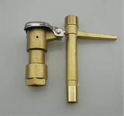 6分黄铜快速取水阀 取水器 取水阀钥匙 铜取水栓