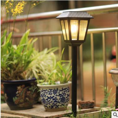 太阳能灯超亮户外庭院草坪灯防水花园插地室外LED路灯别墅装饰灯