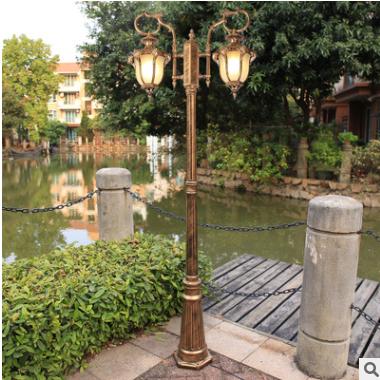 户外小区公园照明led庭院灯 别墅花园灯欧式庭院路灯 户外草坪灯