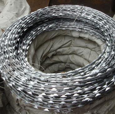 中阳公司 金属丝绳 刺线 刺绳 刺丝 刺网 刀片刺线 刺铁丝护栏网