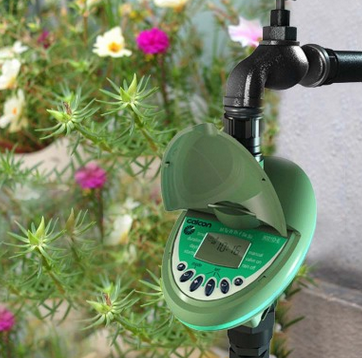 外贸定时器户外园林灌溉控制器家用智能浇水控制器花园自动浇花器