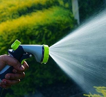 厂家直销锌合金8功能水枪 园林水枪 花洒水枪 洗车浇花园林灌溉