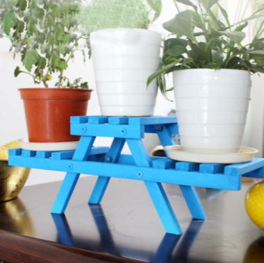 简约现代创意室内阳台小型飘窗花架桌面多肉小花架子迷你多层梯形