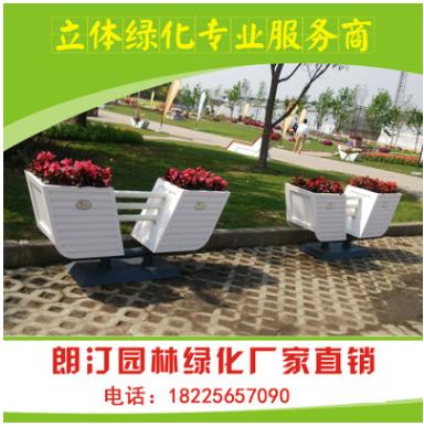 安徽厂家直销 市政公园广场绿化工程 户外古典园艺景观PVC花箱