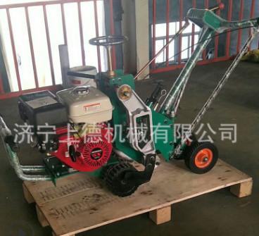 上德机械专业生产园林绿化机械 草坪移植机 本田9马力