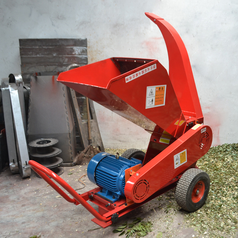 广传机械移动式多功能树枝粉碎机枝条切碎机木屑机厂家直销