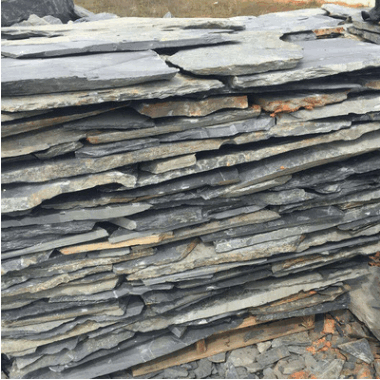 青石板 仿古碎拼铺路石 庭院文化石 青石板铺路石 异型碎石板0