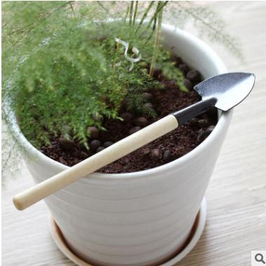 批发园艺养花种植工具 迷你小型三件套 铲/耙/锹多肉植物种植工具