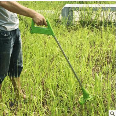 家乐美充电式电动割草机打草机除草机家用小型多功能草坪修剪机