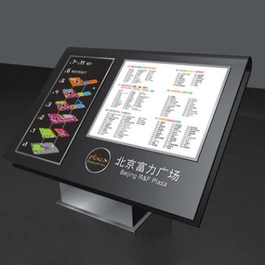 落地式景区导视图楼层导向指示牌总平图索引牌科室区域定制标识牌