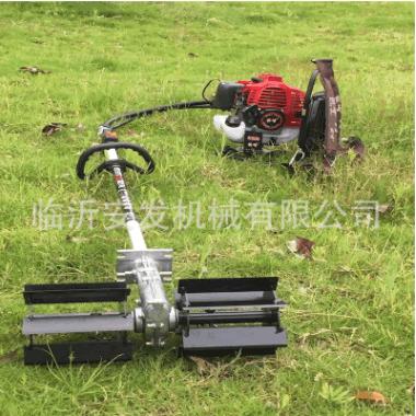 汽油背负式松土锄地机便携式果园打草机多功能旋耕锄草机
