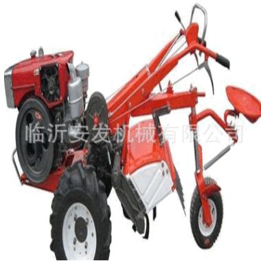 农用手扶式田园管理机果园多功能手扶式旋耕犁田机乘坐式拖拉机