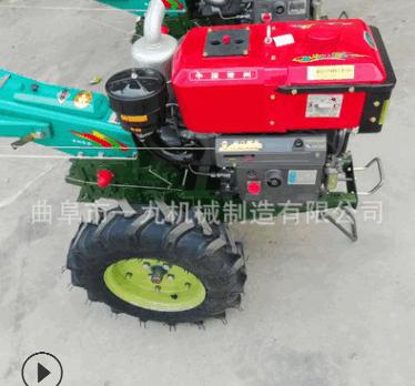各种型号多功能手扶拖拉机带动的旋耕机 各种型号101型手扶车价格