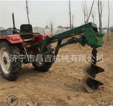 农用省力四轮植树挖坑机 型号齐全的种树钻坑机 操作简单