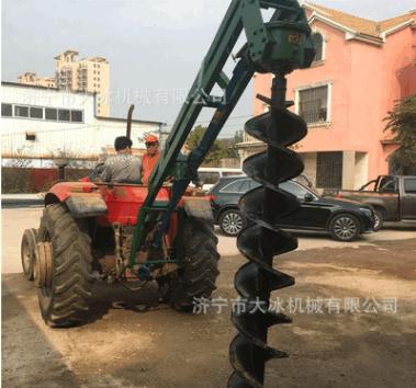 机械挖坑机 汽油便携式栽树机 田地挖眼机 长期供应植树打孔机