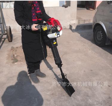 邵东县 汽油挖树机 冲击铲式移苗铲球机 整枝锯断挖苗机