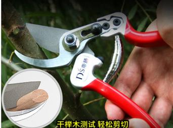 台湾原装2068园林剪刀 树枝剪省力果树修枝剪花木园艺剪日新铁SK5