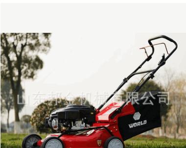 自走式汽油草坪机 手推四轮割草机 草坪修剪机 四轮车割草机价格