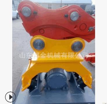 挖机快速连接器小型挖掘机快换 挖掘机勾机挖斗液压快速接 连接头