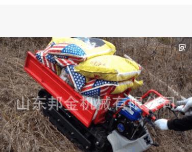 微型履带式运输机养殖专用车 履带式可前翻搬运机 履带式搬运车