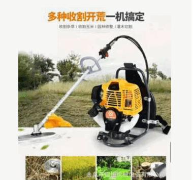农田草坪除草机收割机 割草机 草坪机 多功能收割机械