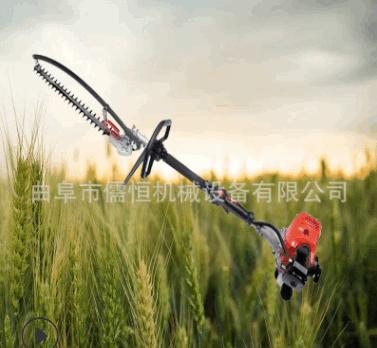 供应农业机械电动绿篱机圆弧弯度可调绿篱自动修球机园林修剪机