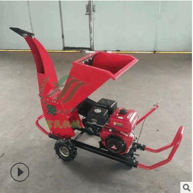 优质树枝粉碎机价格农用碎枝机型号加大进料口碎枝机价格