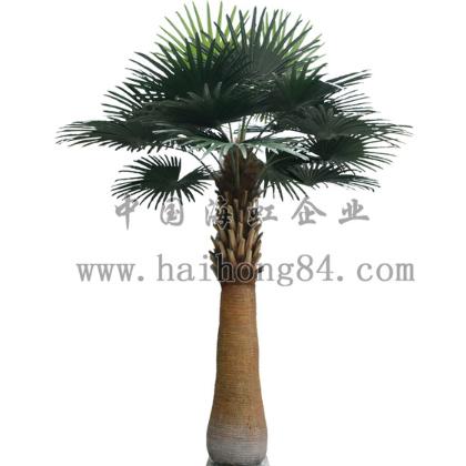 仿真半杆棕榈树,仿真植物,主题包装