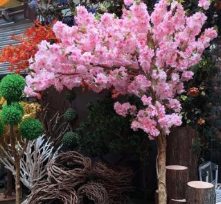 厂家直销仿真樱花树桃花树 装饰仿真植物 婚庆酒店景观假树装饰