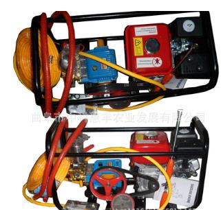 果园喷雾式打药机厂家汽油动力高压喷雾26泵型担架框架式型号全