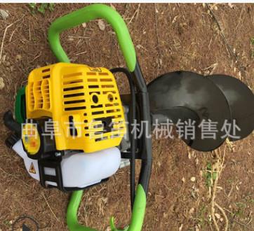 四冲程多功能汽油挖坑机 林业手提式打孔机 便携式汽油挖坑机价格