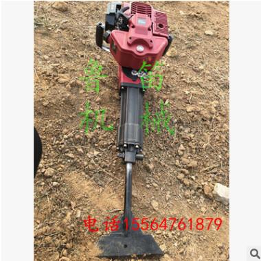 大功率汽油挖树机 链条式挖树机 单人操作快速挖坑打孔机